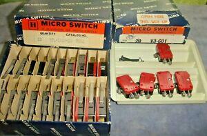 lot full box V3L-2157-D8 7442 partial V3-601 7924 MICRO SWITCH Honeywell limit