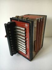 M Hohner Accordion Germany The World's Best 10 key early 1900s
