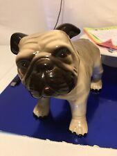 Old Monrovic Hagen Renaker English Bulldog,7� Tall X 10� Wide, Euc