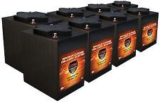 6Volt Trolling Motor Batteries QTY8,48V AGM maint free 225AH 6 Volt VMAX MB6 6V