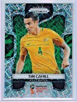 2018 Panini Prizm World Cup Soccer Tim Cahill (Australia) Lazer PRIZM