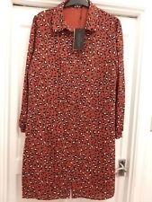 Leopard Print Dress/Blouse Size 18