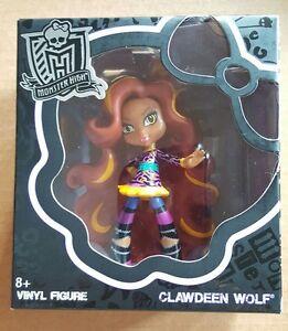 BNIB CLAWDEEN WOLF Monster High Vinyl Figure;Collectables MATTEL