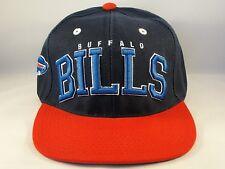NFL Buffalo Bills Retro Snapback Hat Cap Blue Red