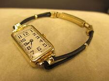 Vintage Women's MAGNO 18K Art Deco 15 Jewel Watch