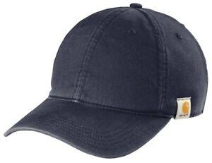Carhartt Cotton Canvas Men's Adjustable Strapback Dad Cap Authentic Hat Curved