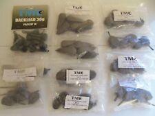 70 x Carp / Coarse Fishing Leads, Inline, distance, swivels, back leads, £39.99