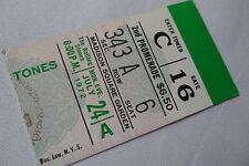 ROLLING STONES Original__1972__CONCERT TICKET STUB__Exile Main Street Tour  NYC