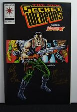 Secret Weapons #11 (Valiant,1994) Signed by Fontenot&Grau, Stamped & Certificate