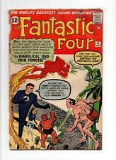 Fantastic Four #6 VINTAGE Marvel Comic KEY 1st Sub-Mariner & Dr Doom Team-Up