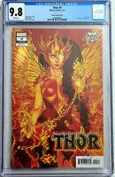 Thor #9 Jenny Frison Phoenix Variant Marvel Comics 2020 CGC 9.8