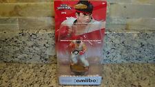 NEW NIB Amiibo Figure Super Smash Bros Ryu Nintendo 3DS Wii U