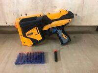 NERF N-Strike SPEEDLOAD 6 Dart BLASTER Dart Tag Free Ammo