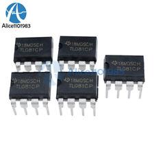5PCS TL081 TL081CP TI IC JFET Input Operational Amplifiers DIP-8 NEW