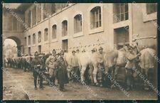 Roma Città Caserma Militari Artiglieria cartolina QT2229