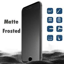 For Apple iPhone XS Max XR X 8 6 7 Matte Frosted Tempered Glass Screen Protector