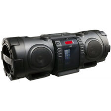 JVC RVNB 75 40 W Portátil Bluetooth CD Radio Boombox Con Iphone Dock-Negro