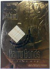 2000 23KT Gold Card Barry Bonds 40/40 Club Authentic Game Used Memorabilia Bat