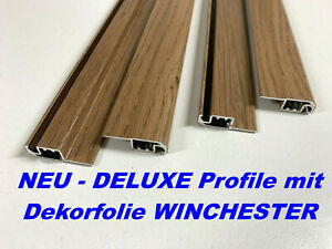 Alu-Profil DELUXE für Fliegengitter Insektenschutz Fenster WINCHESTER (Paar)