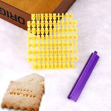 DIY Alphabet Letter Number Cookie Press Stamp Embosser Cutter Fondant Mould Cake