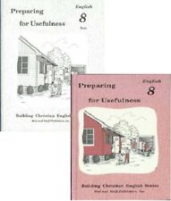 Rod and Staff English grade 8 worksheets and tests set