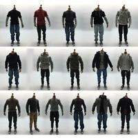 Mens Casual Outfits Clothes Set For 1/6 Scale    Action Figure Body