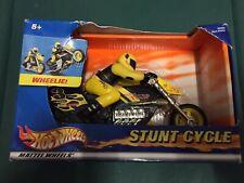 NEW 2003 Hot Wheels Mattel Wheels Wheelie Stunt Cycle Vintage