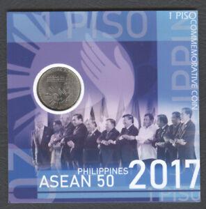 2017 Philippine Piso ASEAN Partnership / Jose Rizal Commemorative Coin