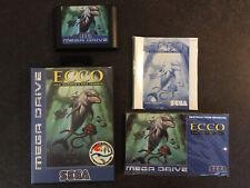 Sega Megadrive Ecco the Dolphin Les Marées du temps Français complet