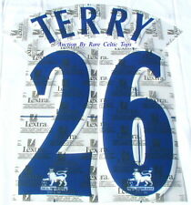 Lextra 97-06 Chelsea John Terry 26 EPL Player Issue Size Shirt Name Number Set
