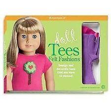 Doll Tees Felt Fashions American Girl Book