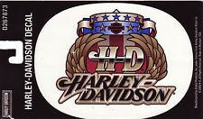 Harley Davidson Pegatina Sticker modelo H-D Wings grande 16,0 cm x 11,8 cm