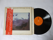 CHARLES MINGUS LIVE WITH ERIC DOLPHY ~ JAPANESE JAZZ VINYL LP + OBI ~ TOP AUDIO