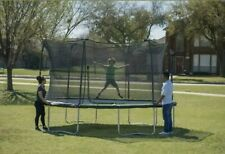 Jumpking 14 Foot Round Trampoline With Safety Enclosure System