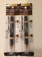 Loreal Brow Stylist Raiser Highlighter Duo #625 Deep Fonce Arched Brows (M1)