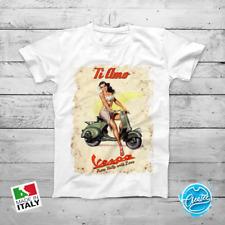 T-shirt VESPA Maglia PIAGGIO adulti VINTAGE Uomo Donna   RETRO HIPSTER