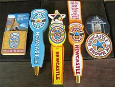 NewCastle Bombshell & Brown Ale & Summer LOT of 3 Beer Tap Handles & 20 Coasters