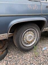 RH 1980-1992 Cadillac Fleetwood Brougham Deville Chrome Wheel Well Molding Trim