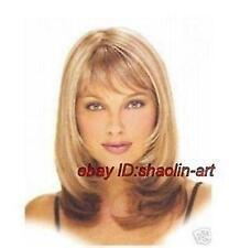 Wigs,blonde/brun mixte raide santé cosplay Costume cheveux perruques