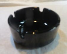 Cendrier  en verre noir