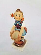 Vintage Goebel Hummel Little Helper #73 Girl with Basket Figurine