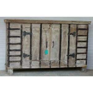 NEW Boho chic Old trunk cabinet