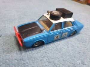 Corgi toys 302 hillman hunter rally car unboxed in nice condition