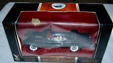 1956 Lincoln Continental Mark II Die Cast Metal Black Car 1:18 24K Gold Pl Coin