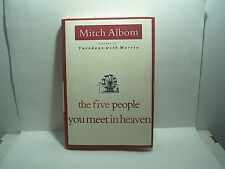 The Five People You Meet in Heaven hardback book Mitch Albom