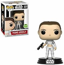 Funko Pop Star Wars - Padme Amidala in Geonosis Outfit - 2018 ECCC Damaged Box