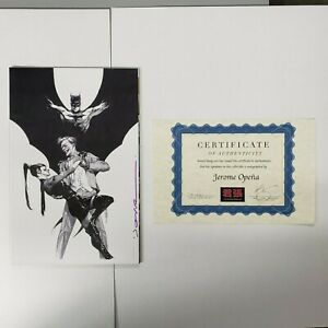Batman #100 Opena Exclusive B/W Virgin Variant Signed by Jerome Opena DC Comics