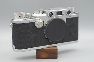 Leica iiiF Black Dial Rangefinder 35mm Film Camera