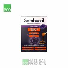 Sambucol Black Elderberry With Honey 20 Pastilles 40g