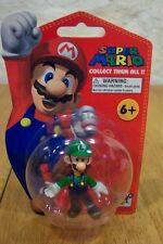Super Mario Bros. LUIGI Nintendo TOY FIGURE NEW